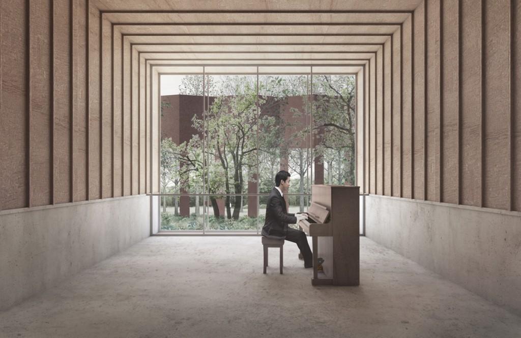 pracownia architektury krajobrazu Akademia Muzyczna